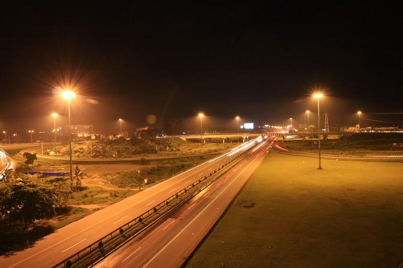 Công trình chiếu sáng cầu vượt Thủ Đức