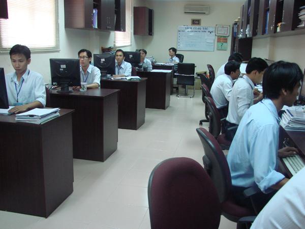 Đội ngũ kỹ sư của công ty