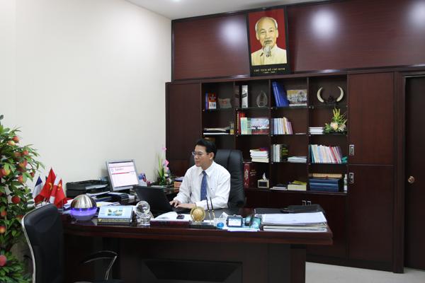 Ông Trần Trọng Huệ - Giám đốc Công ty