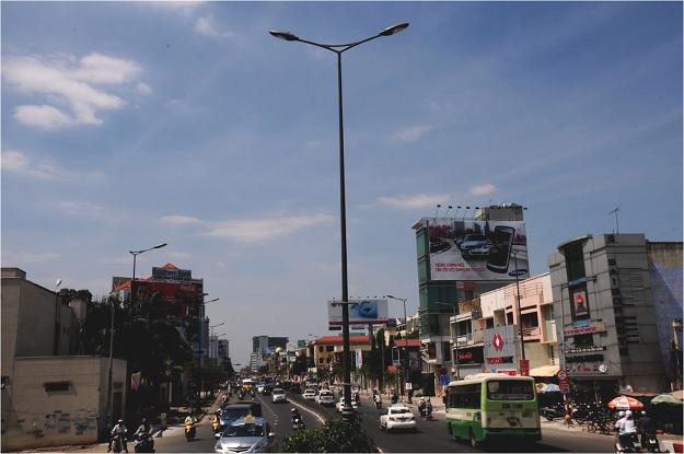 Chiếu sáng công cộng đường Nam Kỳ Khởi Nghĩa - Nguyễn Văn Trỗi