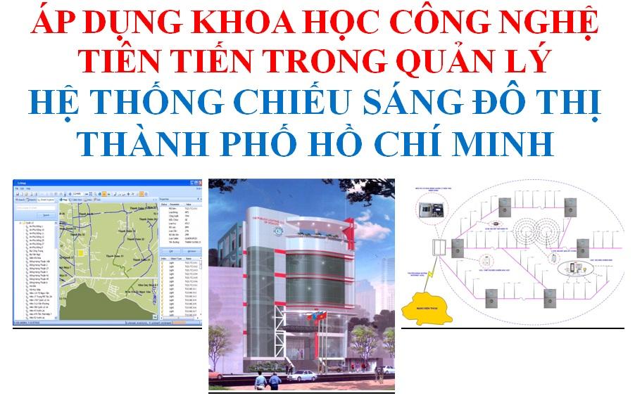 Áp dụng KHCN tiên tiến trong quản lý hệ thống chiếu sáng đô thị TP.HCM